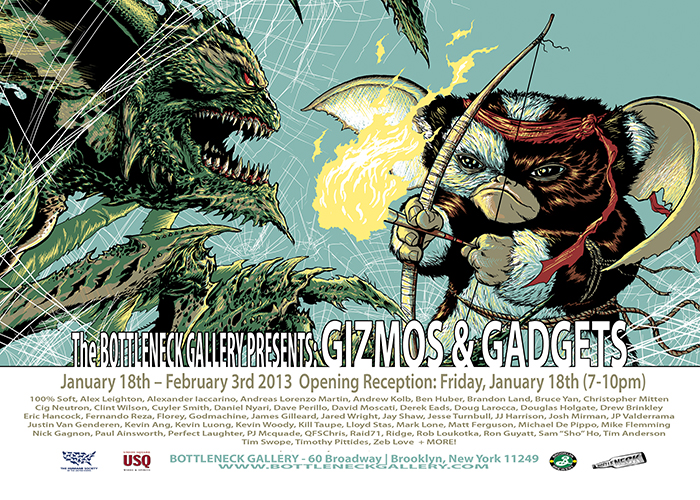 Bottleneck Gallery Presents: Gizmos and Gadgets