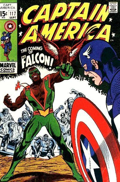 Falcon first appearance