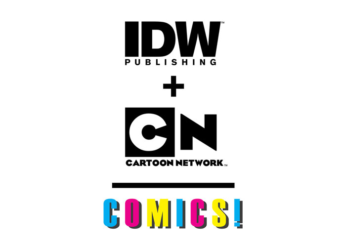 Cartoon Network and IDW Publishing Join Forces!