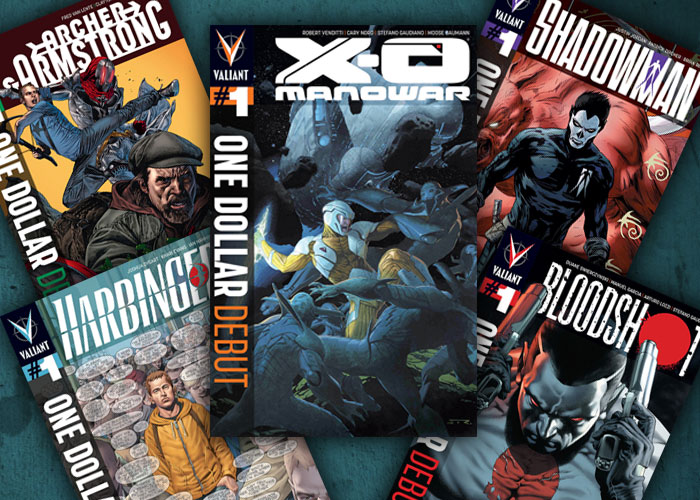One Dollar Debuts From Valiant!