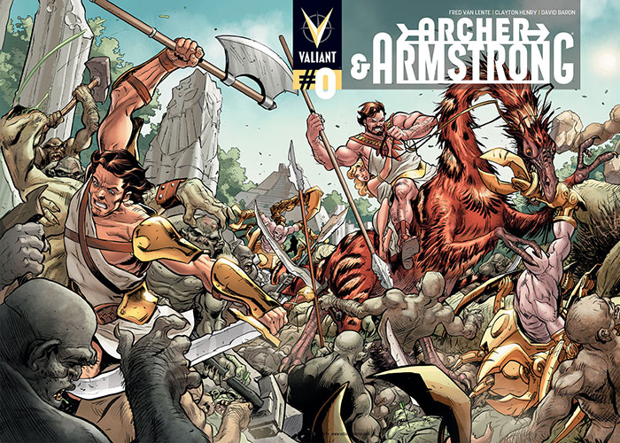 Nerdlocker – Archer & Armstrong #0 Preview