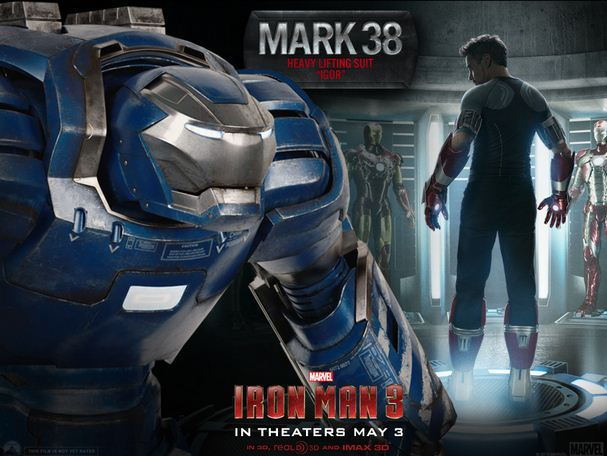 Check Out Some Tony Stark's Different Suits From Iron Man 3!
