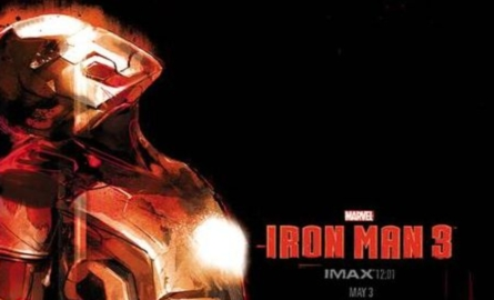 MUST SEE: Marvel's IRON MAN 3 – limited edition IMAX and Mondo midnight poster