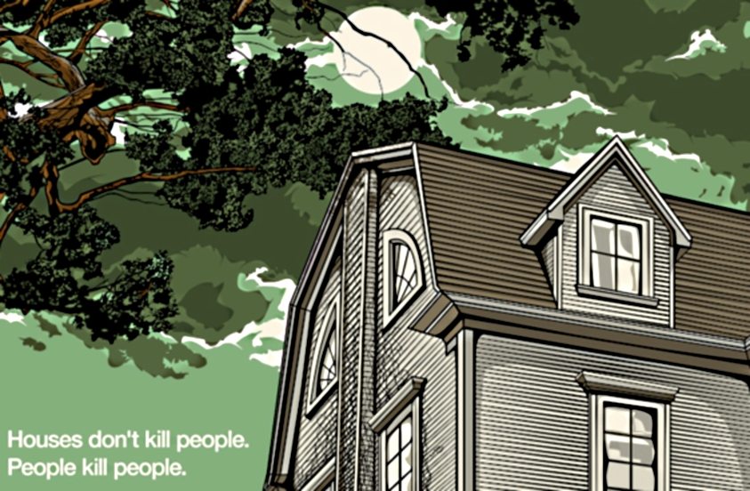 The Amityville Horror by N.E. Commissioned, by Odd City Entertainment on sale today @ 3:15 PM CT