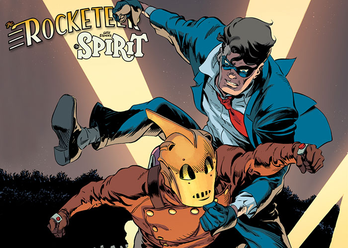 The Rocketeer/The Spirit: Pulp Friction!