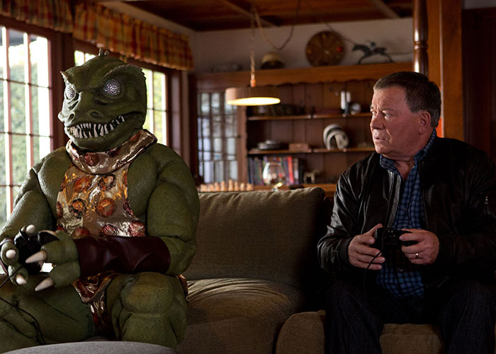 Captain Kirk Takes on Gorn!