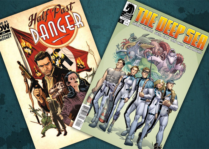 Kit's Comics In Review – The Deep Sea and Half Past Danger!