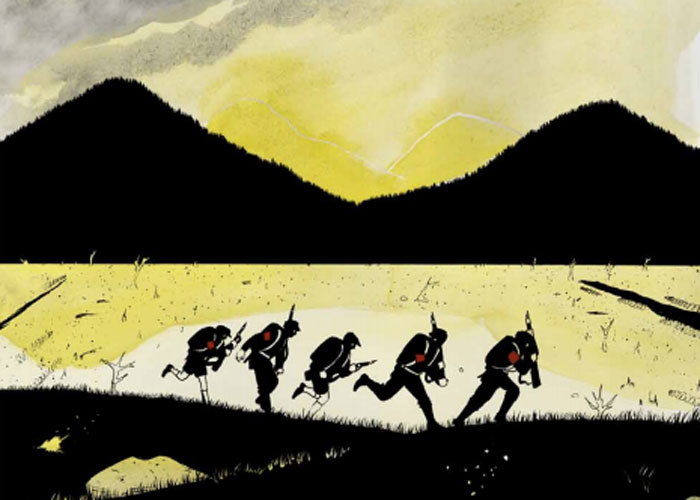 Nerdlocker Comic Book Review – Wolves of Summer #1 and #2