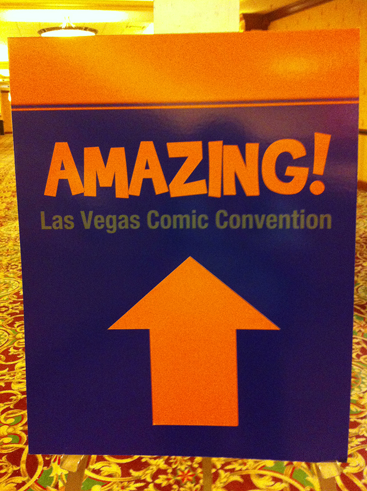 Amazing las vegas comic con day 3 kid s day for Amazing facts about las vegas