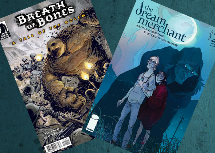 Kit's Comics In Review – Tale of the Golem and Dream Merchant!