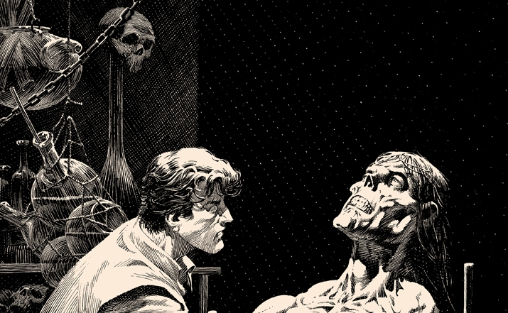 Bernie Wrightson's Frankenstein Series – 'Features As Beautiful' onsale Wednesday 6/12