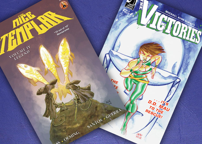 Kit's Comics In Review – The Mice Templar and The Victories!