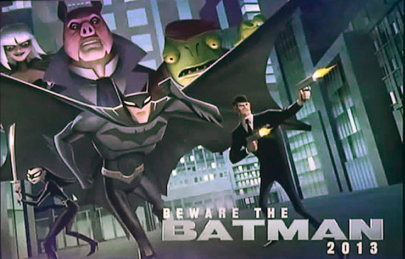 Beware the Batman: The Detective Chases Mystery Villains