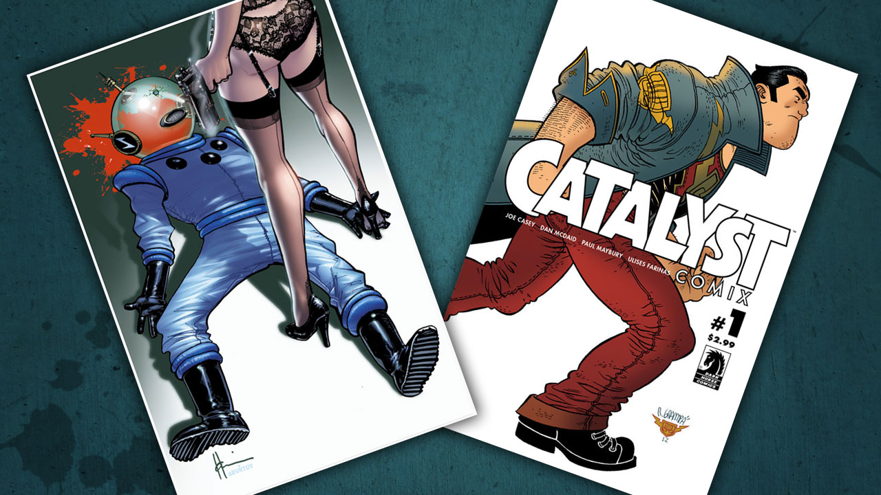 Kit's Comics In Review – Catalyst Comix and Satellite Sam!
