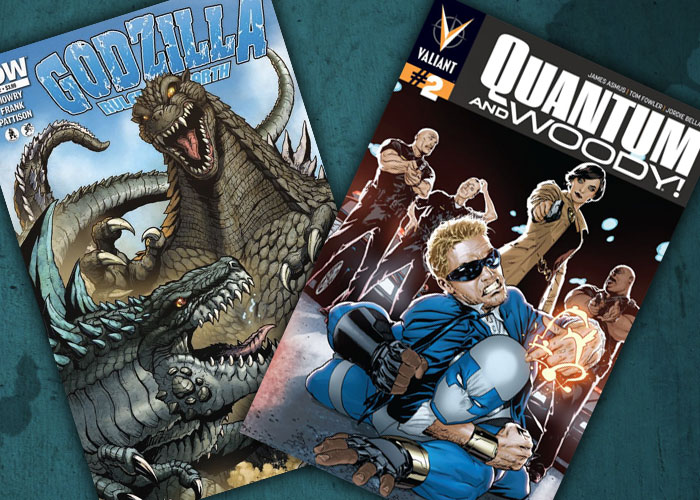 Nerdlocker Comics in Review: Quantum and Woody #2 and Godzilla – Ruler of the Earth #2!