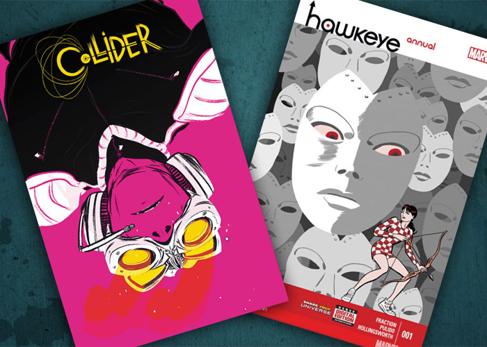 Jarad's Comics in Review: Hawkeye Annual #1 and Collider#1!