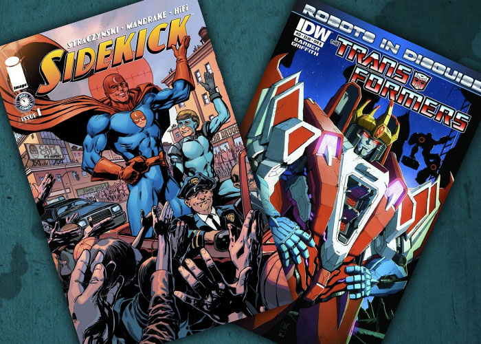 Jarad's Comic in Review: Sidekicks and Transformers