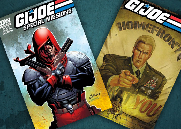 Jasper's Comics in Review: G.I. Joe: Home Front and G.I. Joe: Special Missions!