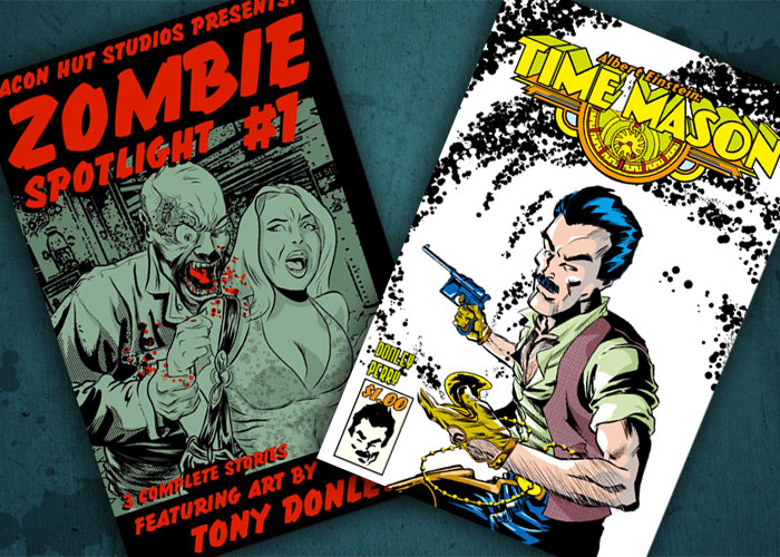 Kit's Comics In Review – Albert Einstein: Time Mason and Zombie Spotlight