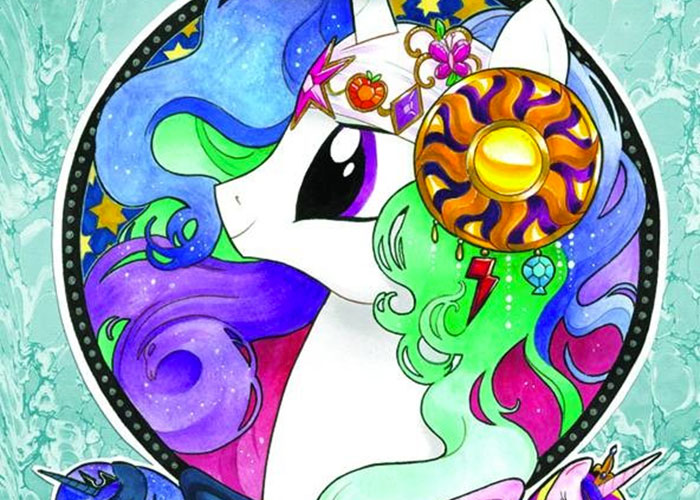 Nerdlocker Comic Book Review – My Little Pony: Micro Series – Celestia #8
