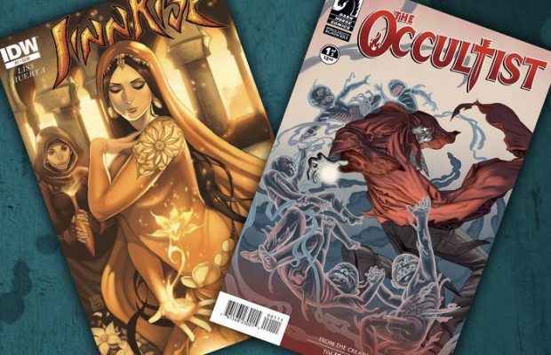 Kit's Comics In Review – The Occultist and Jinnrise!
