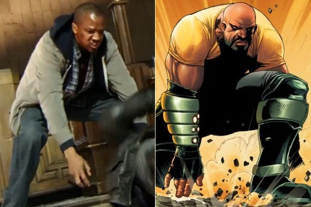 J August Richards Agents of SHIELD Luke Cage  The