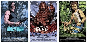 The Kurt Russell triptych