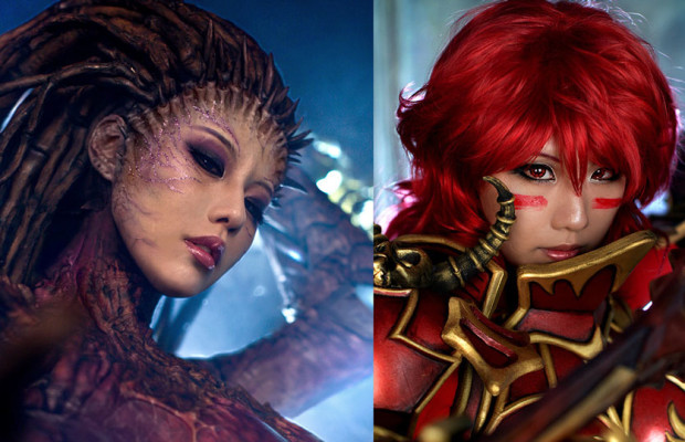 Cosplay Cutie of the Week! Tasha Cosplay as Elyuin and Starcraft Kerrigan