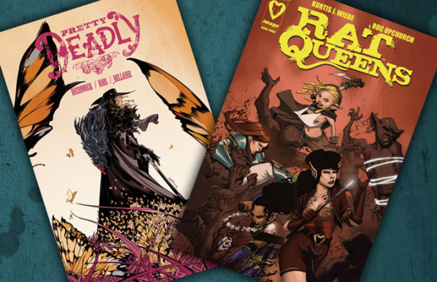 Kit's Comics In Review – Rat Queens and Pretty Deadly!