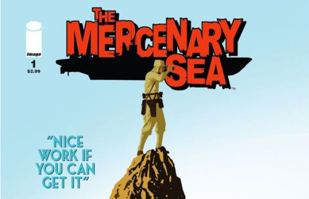 Nerdlocker Comic Book Review – The Mercenary Sea #1
