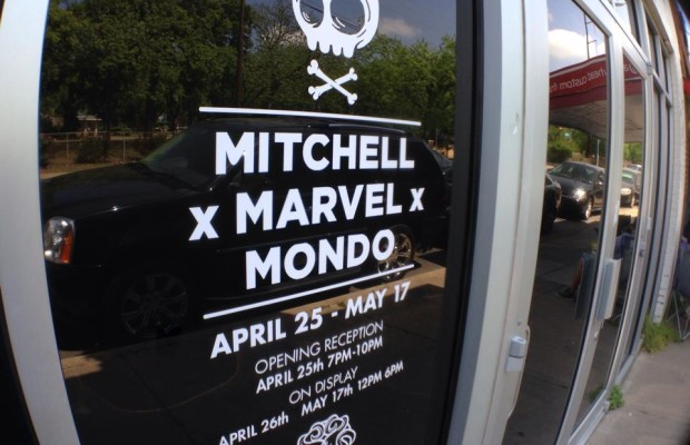 Mike Mitchell x Marvel x Mondo Line Pics!