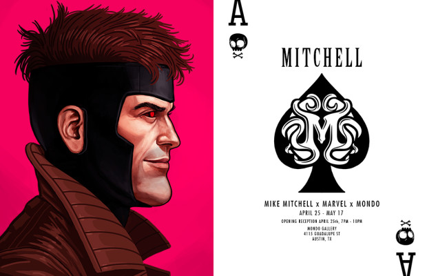 Mike Mitchell x Marvel x Mondo Portrait Gallery