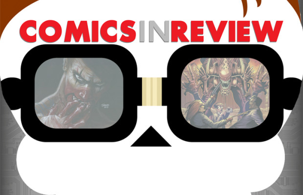 Comics In Review: The Crow #3 & Sinister Dexter #6