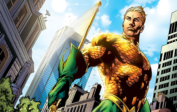 Jason Momoa Is Aquaman!