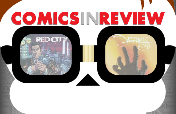 Comics In Review: Red City, Darkness, Haunted Horror, & TMNT