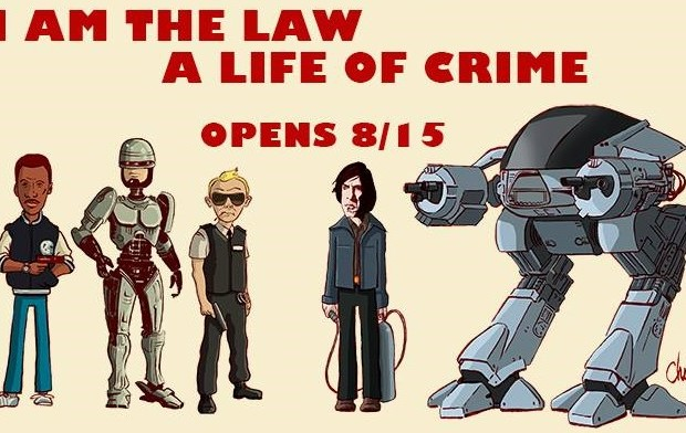 Hero Complex Gallery: I am the law / A life of crime show