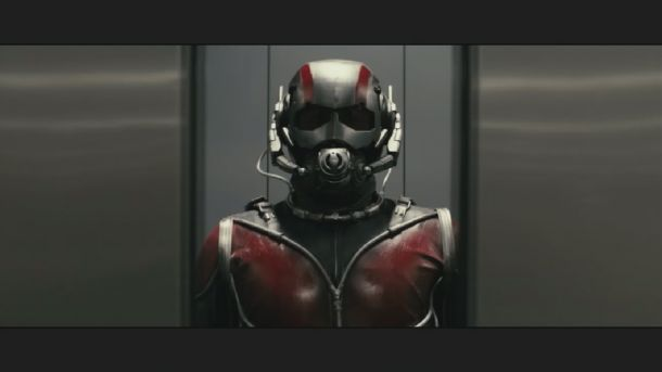 Marvel is cooking with gas! Photo of Paul Rudd as Ant-Man
