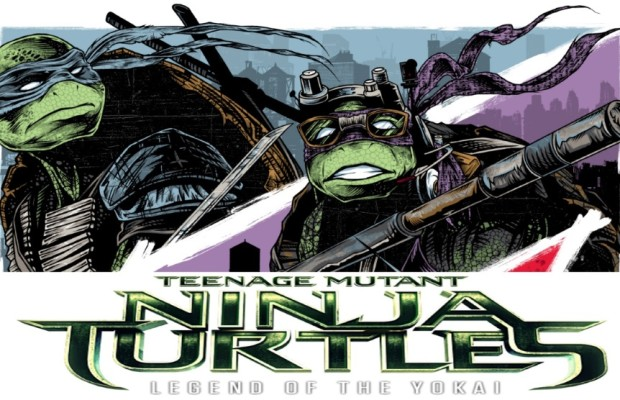 EXCLUSIVE: TMNT/The Legend of the Yokai Art by Rhys Cooper