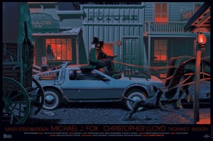 Back To The Future Part III by Laurent Durieux