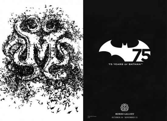Mondo Gallery photos:  75 Years of Batman