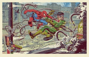 Spiderman 2 by Mike Sutfin
