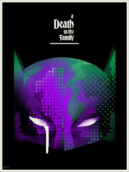 'A Death in the Family' by We Buy Your Kids for Mondo's Batman 75th Anniversary Show