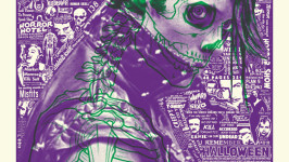 'Jerry Only' by Brian Ewing for 'Scream With Me' at Galerie F