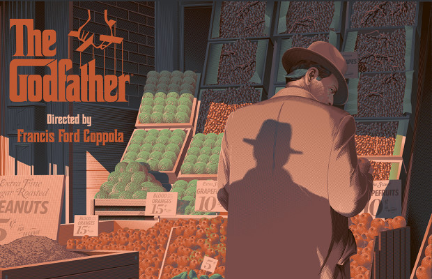 The Godfather Part I by Laurent Durieux, released by Odd City