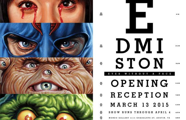Mondo Gallery Presents Eyes Without a Face 2 by Jason Edmiston