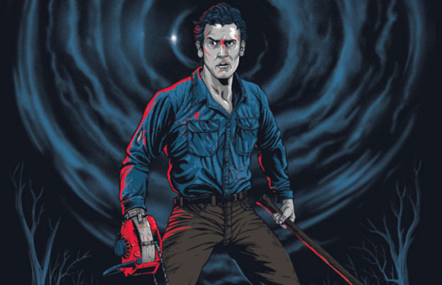 Grey Matter Art Presents Evil Dead 2 by Gary Pullin!
