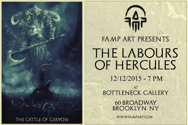 Labours of Hercules show card 2