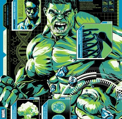 Grey Matter Art Presents The Hulk by Anthony Petrie