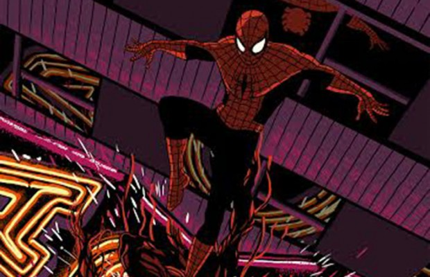 Grey Matter Art Presents Spider-Man Vs. Carnage by Raid 71