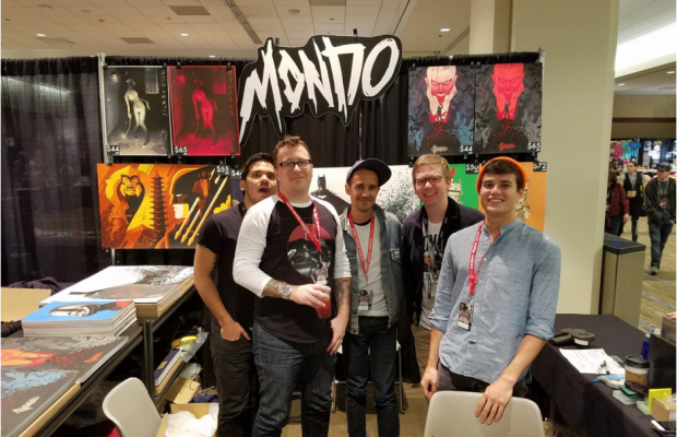 The Mondo Team at Emerald City Comic Con